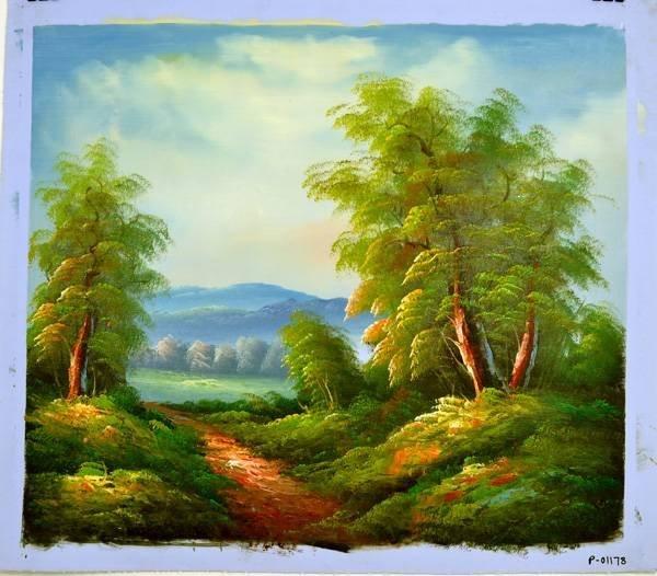 """Oil Painting- Nature Landscape- 24"""" x 27"""""""