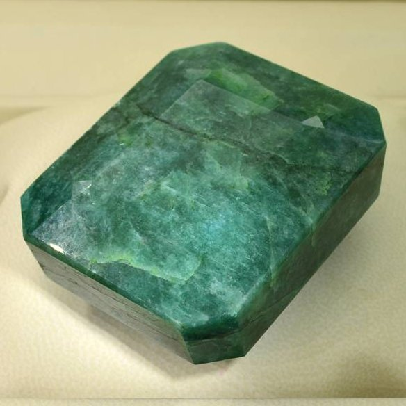 APP: 43.2k 800.40CT Emerald Cut Emerald Gemstone