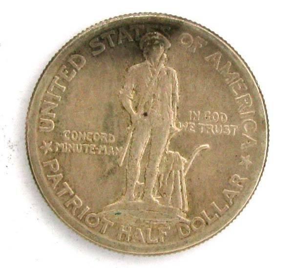 1925 Lexington Commemorative Half Coin - Investment