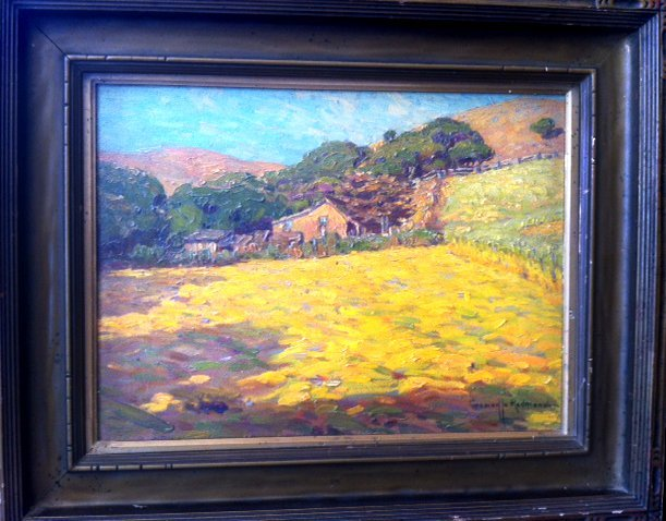 Granville Redmond Oil on Canvas ''Sunny Stubblefield''