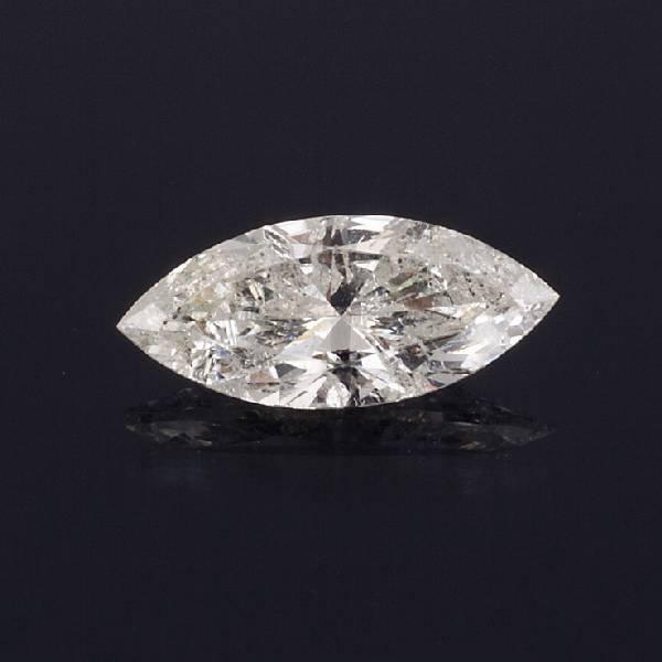 APP: 11.6k *1.64CT Marquise Cut Diamond Gemstone