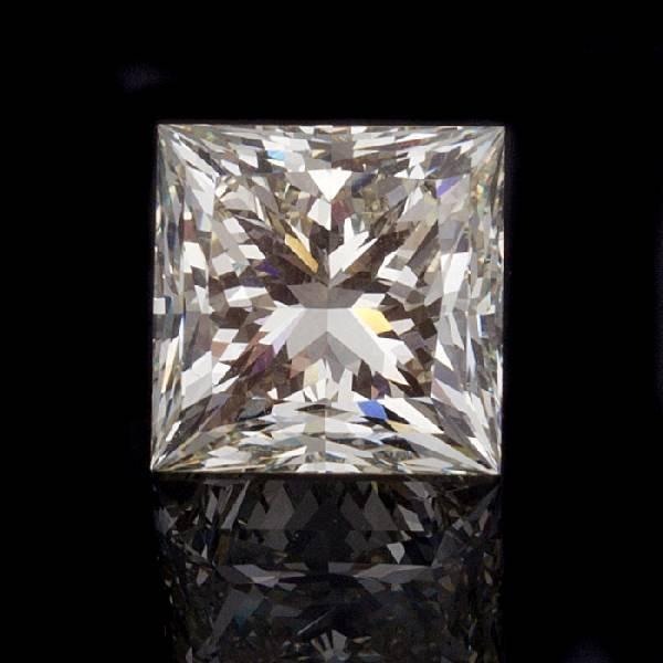 APP: 158.4k *6.40CT Princess Cut Diamond Gemstone