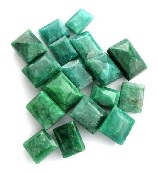APP: 59.4k 252.90CT Rectangular Cut Emerald Parcel