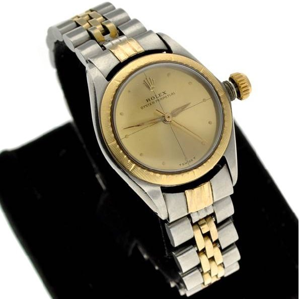Rolex Women's Perpetual Stainless Steel & Gold Watch