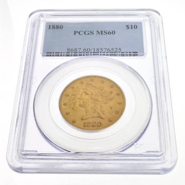1880 $10 U.S Liberty Head Gold Coin - Investment