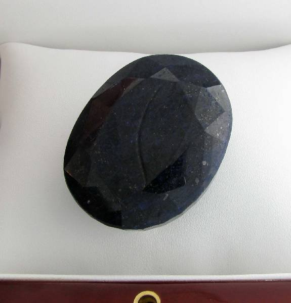 APP: 20.3k 580.95CT Oval Cut Blue Sapphire Gemstone