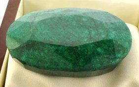 APP: 94.4k 898.75CT Oval Cut Emerald Gemstone