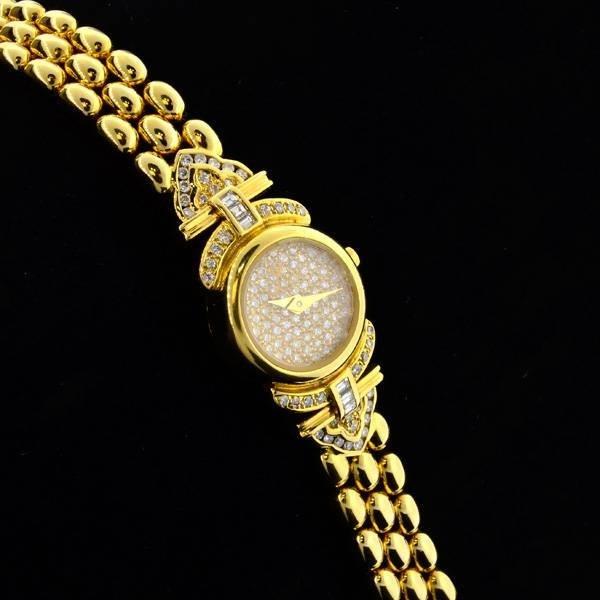 APP: 27k *18kt Gold, Diamond Lalanne Swiss Quartz Watch