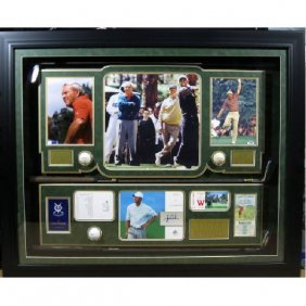 Nicklaus/Palmer/Wood - Authentic Signatures