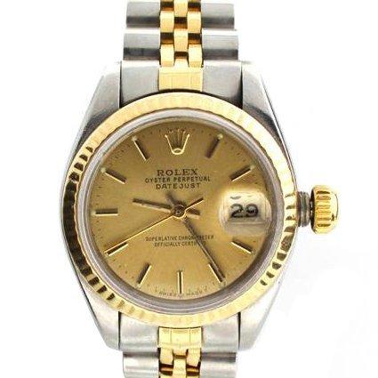 Rolex Women's Oyster Perpetual Datejust Steel Watch