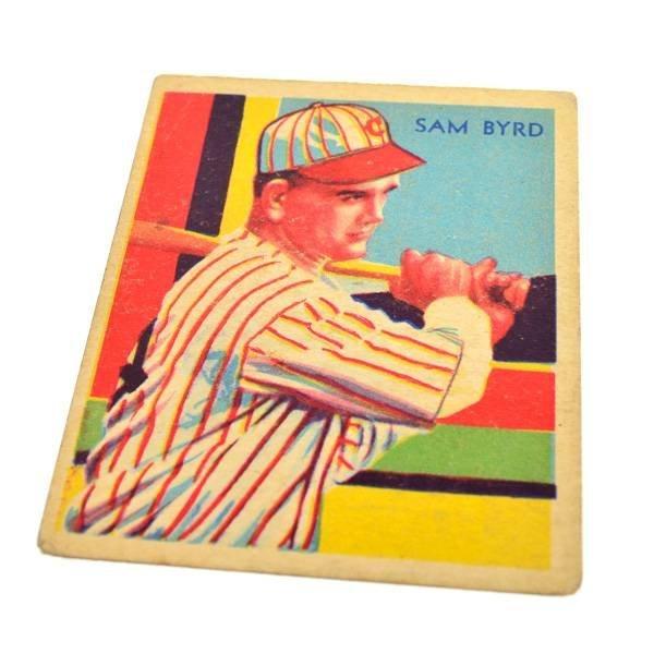 Sam Byrd #84 BP $20-$100 Green Dia. Stars Baseball Card