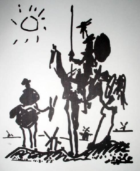 PABLO PICASSO Don Quixote Print, Limited Edition