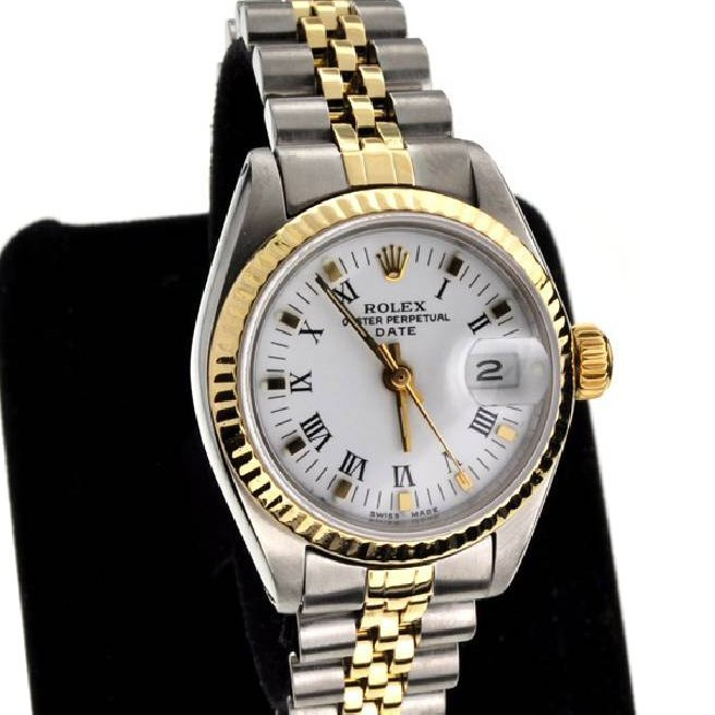 Rolex Ladies Oyster Perpetual Stainless Steel Watch