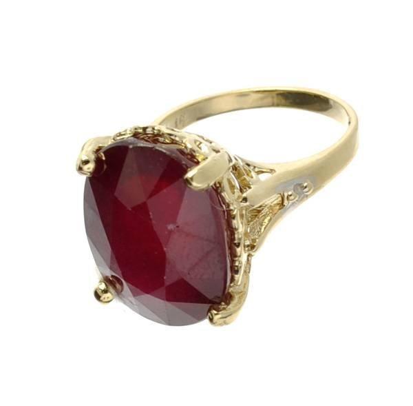 APP: 15k 14kt Yellow & White Gold, 17CT & Diamond Ring