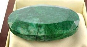 APP: 59.6k 888.80CT Oval Cut Emerald Gemstone