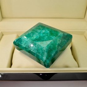 APP: 51.2k 1,463.80CT Emerald Cut Emerald Gemstone