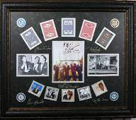 Rat Pack Casino Chips  Cards  Plate Signatures