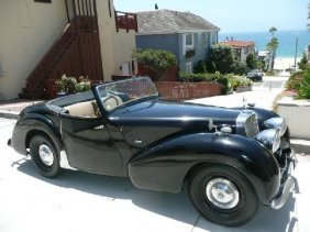 1949 Triumph Roadster TR 2000 - Pick Up Only