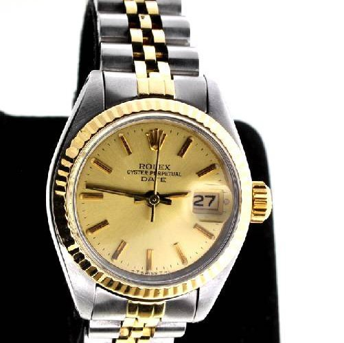 Rolex Women's Oyster Perpetual Stainless Steel Watch