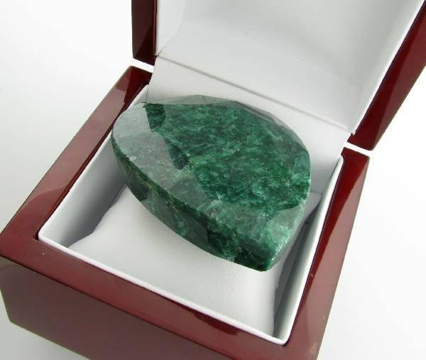 APP: 72.2k 1,078.10CT Pear Cut Emerald Gemstone