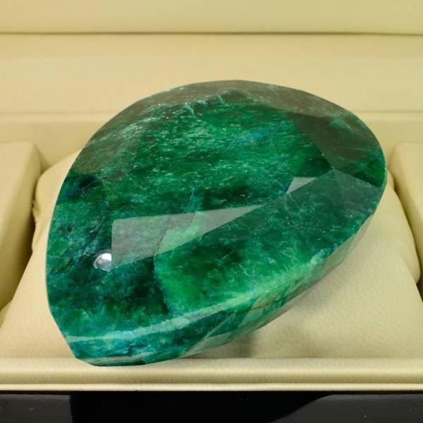 APP: 51.1k 1,461.15CT Pear Cut Emerald Gemstone