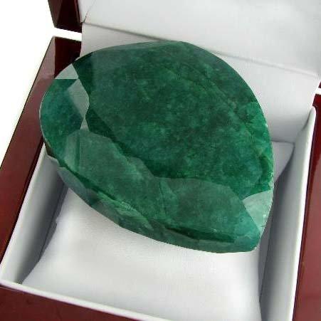 APP: 112.1k 1,067.50CT Pear Cut Emerald Gemstone