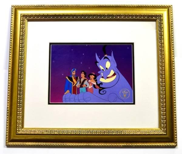 "Disney ""Aladdin"" Print Rare Museum Framed Ltd. Edition"