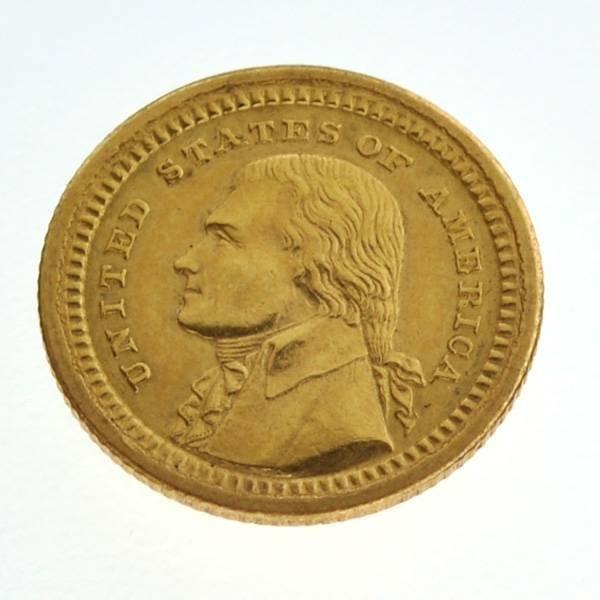 *1803-1903 $1 Louisiana Purchase Exposition Gold Coin