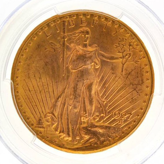 *1927 $20 Saint Gaudens Type Gold Coin - Investment