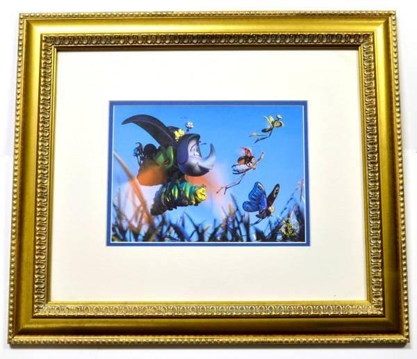 """Disney """"Bugs Life"""" Print Rare Museum Framed Ltd. Edn"""