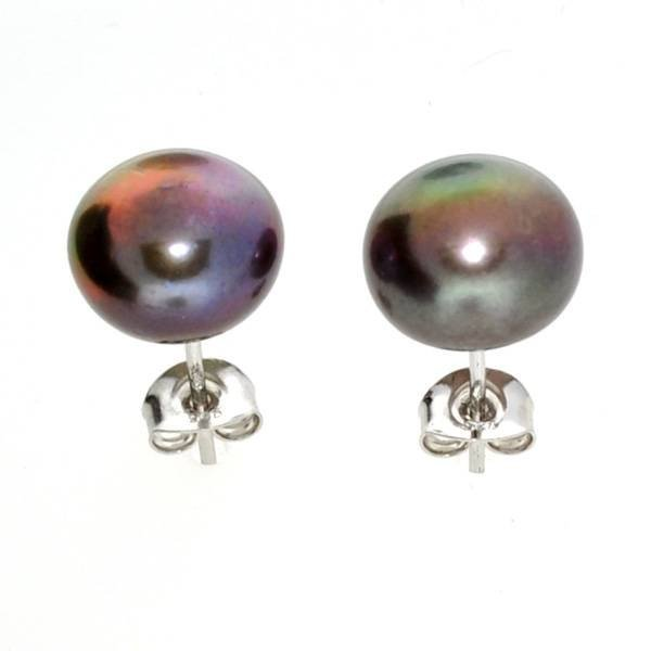 APP: 1.1k Peacock Cultured Freshwater Pearl Earrings