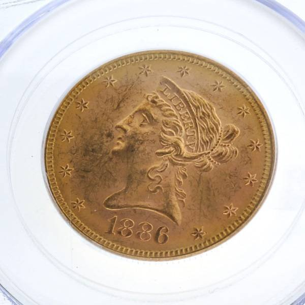 *1886-S $10 Liberty Head Gold Coin - Investment