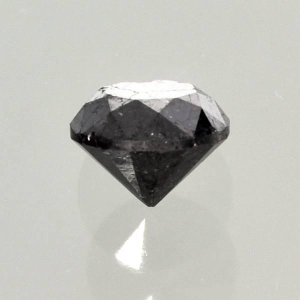 1.60CT Rare Black Diamond Gemstone