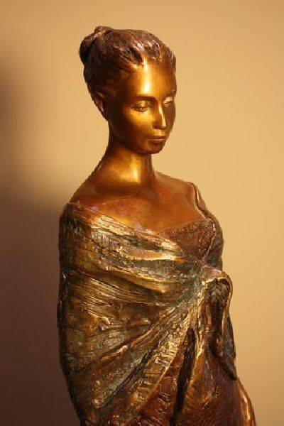 Alice Riordan - Quiet Moment Bronze Sculpture