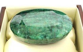 APP: 46.1k 1,316.60CT Oval  Cut Emerald Gemstone