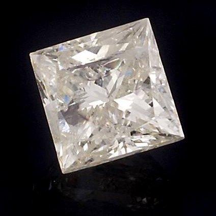 APP: 6.3k *1.47CT Princess Cut Diamond Gemstone