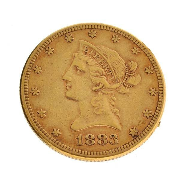 *1883 $10 Liberty Head Gold Coin - Investment