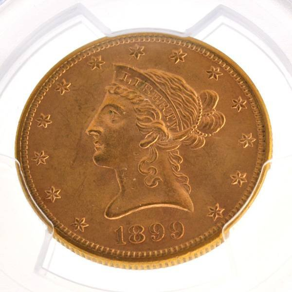 1899 $10 U.S Liberty Head Type Gold Coin - Investment