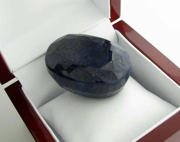 APP: 27.3k 779.95CT Oval Cut Blue Sapphire Gemstone
