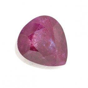 APP: 26.6k 46.22CT Pear Cut Ruby Gemstone