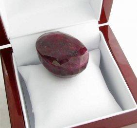 APP: 17.5k 501.05CT Oval Cut Ruby Gemstone