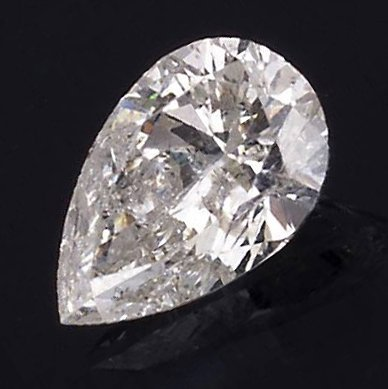 APP: 8k *1.09CT Pear Cut Diamond Gemstone