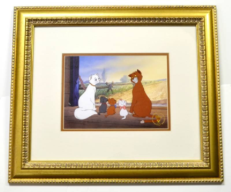 "Disney ""The Aristocats"" Print Museum Framed Ltd. Edn"