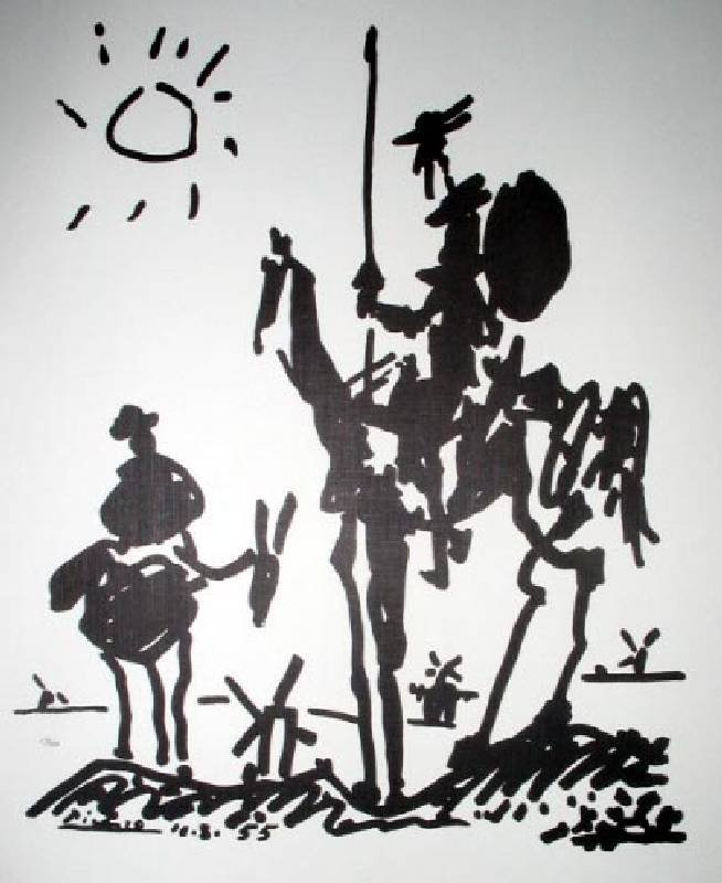 PABLO PICASSO Don Quixote Print, Limited Edition