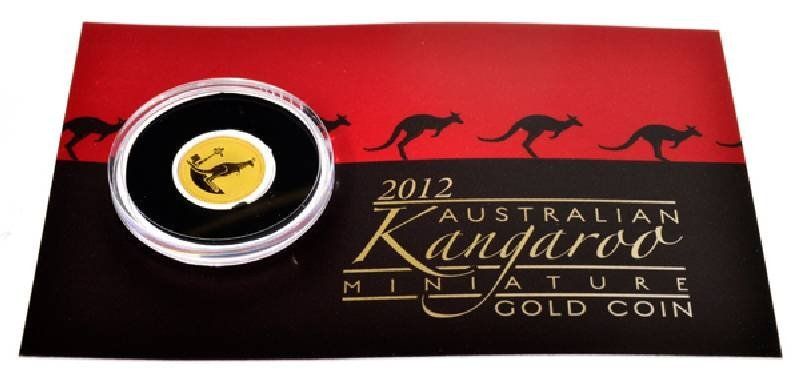 2012 Australian Kangaroo 999 Gold Coin - Investment