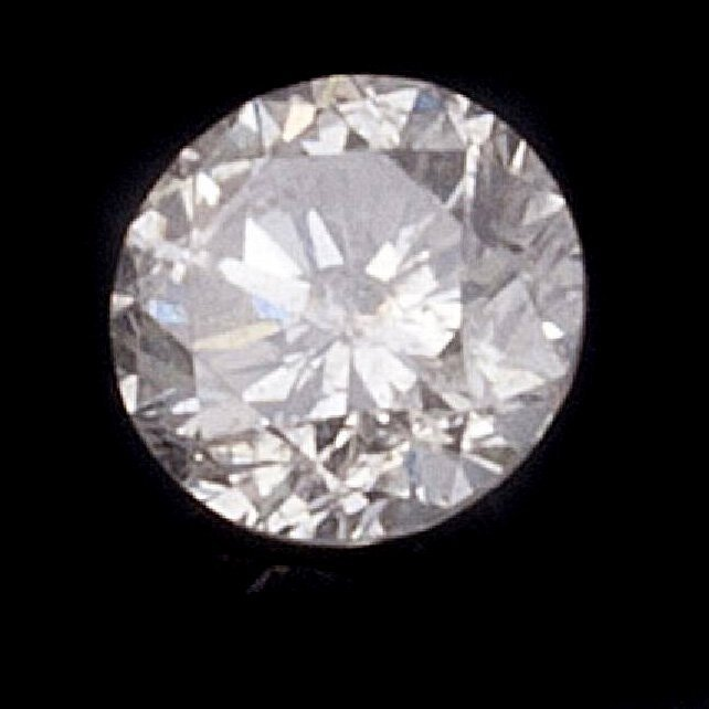 APP: 4.8k 0.51CT Round Cut Diamond Gemstone