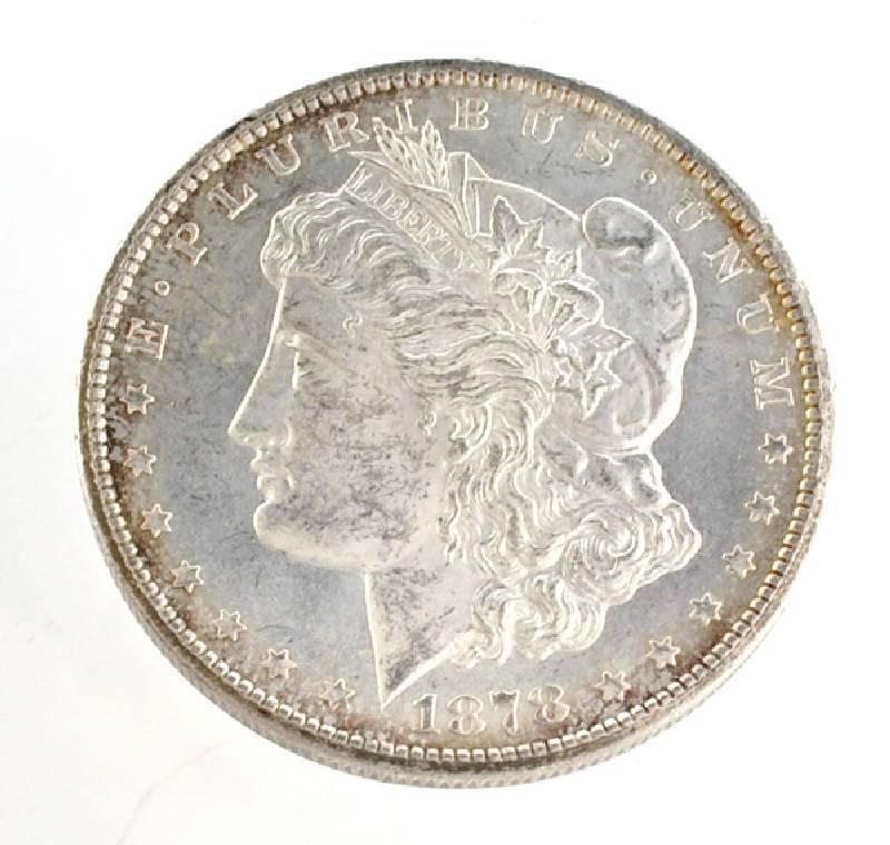 1878-CC U.S. Morgan Silver Dollar Coin - Investment