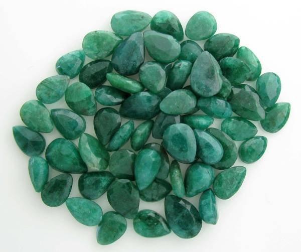 APP: 58.5k 249.10CT Pear Cut Emerald Parcel