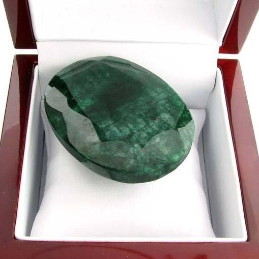 APP: 36.4k 543.45CT Oval Cut Emerald Gemstone