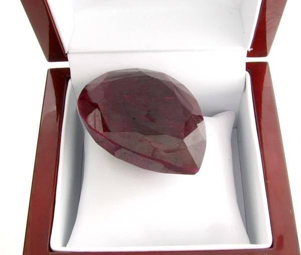 APP: 23.9k 682.75CT Pear Cut Ruby Gemstone